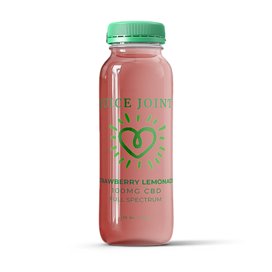Juice Joint CBD Strawberry Lemonade Full Spectrum Juice - 100mg