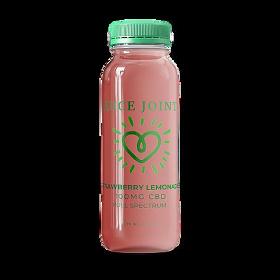 Juice Joint CBD Strawberry Lemonade Full Spectrum Juice - 100mg