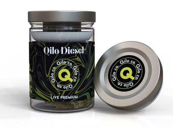 Qilo Co CBD Hemp Flower 7 grams - Diesel (Sativa)