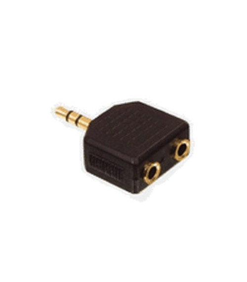 3.5mm STER.PLUG,TO 2x3,5mm