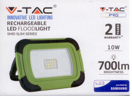portable and rechargeable  flood light