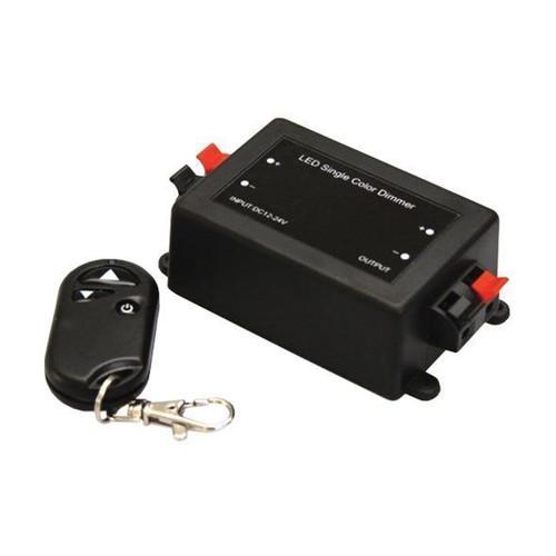 LED-DIM-SKU3300 LED STRIP DIMMER 1-CHANNEL INPUT VOLTAGE:12-24VDC OUTPUT:12V-96A 24V-192W MAX OUTPUT CURRENT:8A
