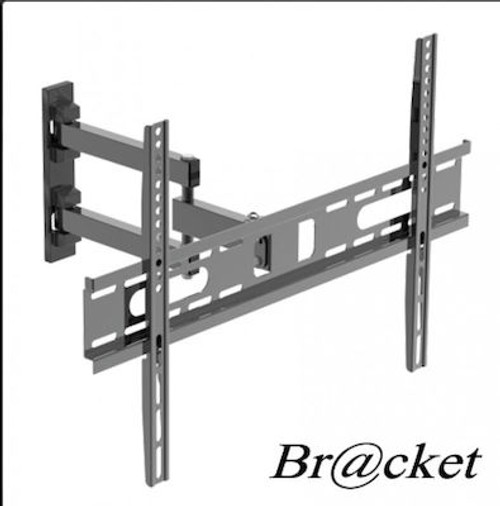 """TV WALL BRACKET 30-70"""" LCD3060-1 Base TV 30"""" - 70"""" with -12 to +5 degree motion, contains spirit level. Maximum load weight 35 kgs. Distance from the wall 85-400mm.Max Vesa 600x400. Installation instructions and fastening materials."""