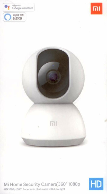WI-FI WIRELESS CAMERA Mi HOME SECURITY CAMERA HD1080P 360 PANORAMIC MODEL:MJSX05CM WIRELESS CONNECTIVITY: WI-FI 2,4GHz EXPANDABLE MEEMORY:MICRO SD CARD UP TO64GB