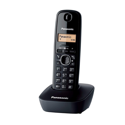 Panasonic KX-TG1611 Black Cordless Phone