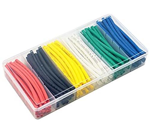 Color shrinkable tube