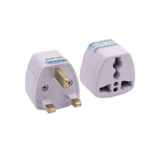 Convert all countries's AC plug to UK. Max Output: 250V 10A.