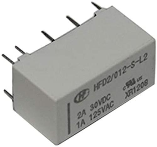 DPDT; U coil: 12VDC; 1A/125VAC; 3A/30VDC; 3A