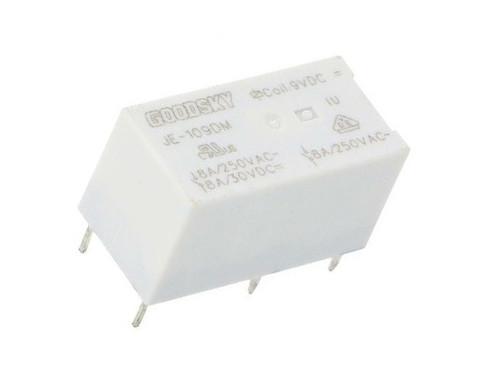 SPST-NO; U coil: 9VDC; 8A/250VAC; 8A/30VDC