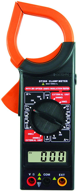 DIGITAL CLAMP METER DC/AC VOLT ACA/ΩBUZER/DATA HOLD