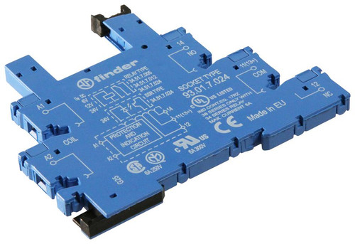 Relay Socket, DIN Rail