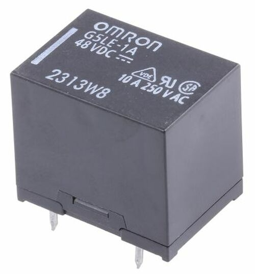 48V dc Coil Non-Latching Relay SPNO