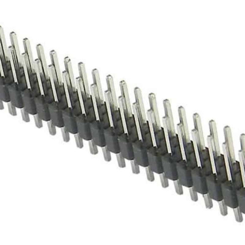 "Header - 2x40 Pin Male 2.54mm (0.1"") - Male-to-Male"