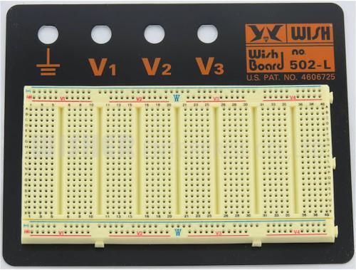 Bread Board: universal; prototyping, solderless; W: 125mm; L: 160mm