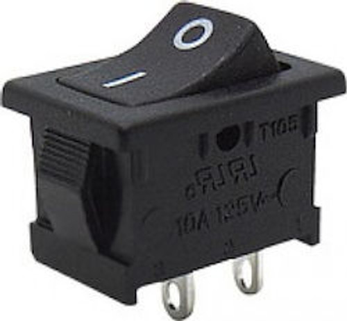 Rocker Switch On/Off 2 Pin