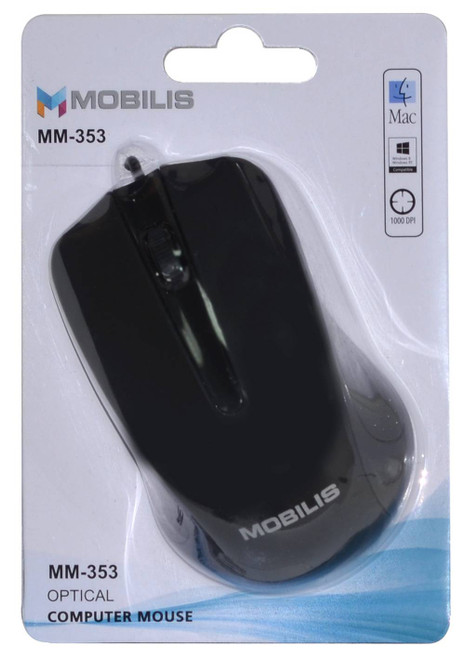 MOBILIS MM-353 USB OPTICAL MOUSE