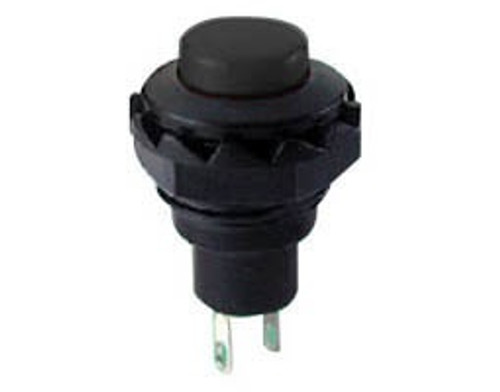 PUSH BUTTON SWITCH  PUSH ON MOMENTARY ROUND 1.5A/250V RED 2PIN