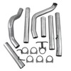 "S6200PLM - MBRP 4"" EXHAUST 99-03 FORD POWERSTROKE 7.3L TURBO BACK NO MUFFLER"