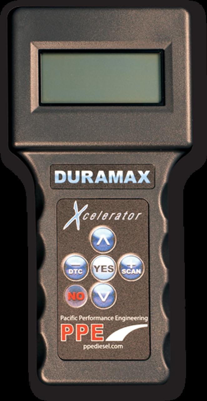 PPE XCELERATOR STANDARD TUNER 2001-2010 CHEVY GMC DURAMAX 6.6L LB7 LLY LBZ LMM - 111020000