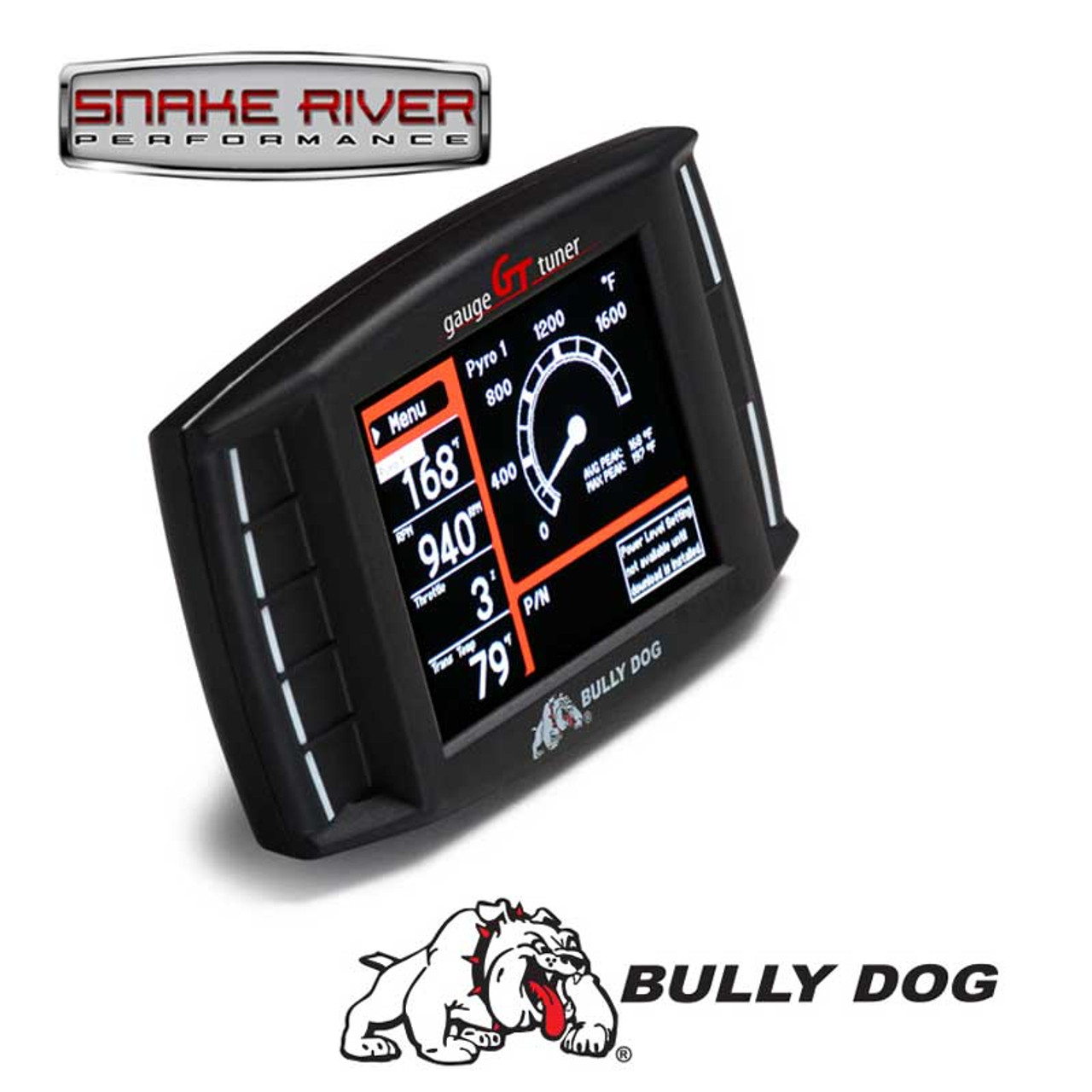 BULLY DOG TRIPLE DOG GT DIESEL GAUGE MONITOR TUNER