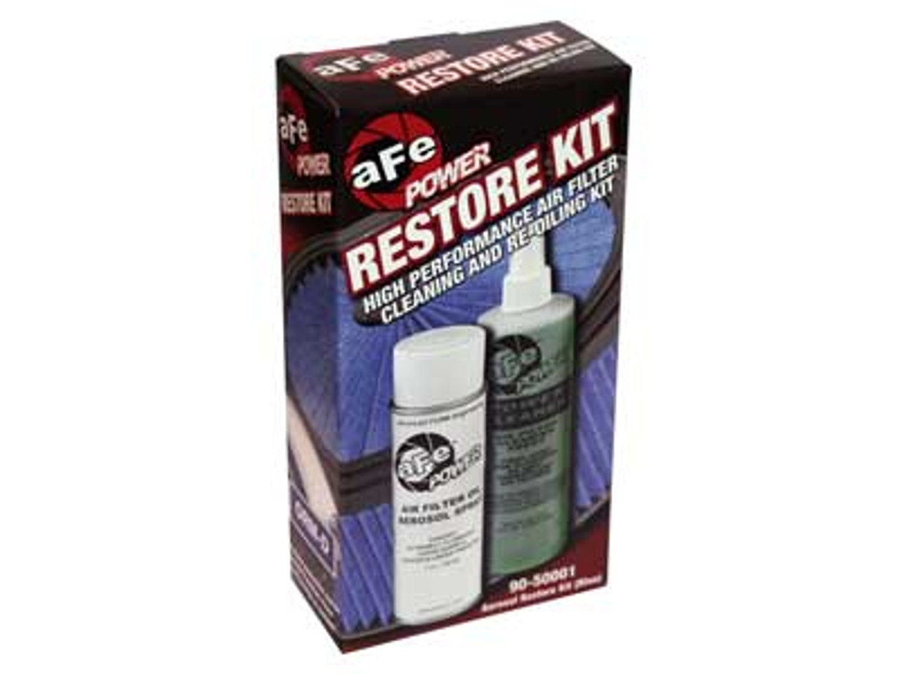 AFE AIR FILTER CLEANING RESTORE KIT BLUE SPRAY - 90-50001