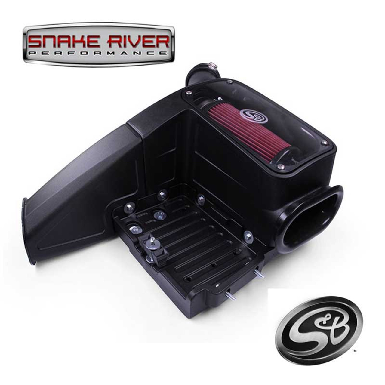 75-5062 - S&B COLD AIR INTAKE 1998-2003 FORD POWERSTROKE DIESEL 7.3L & EXCURSION