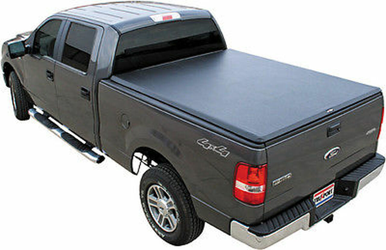 298601 Truxedo Truxport Soft Roll Up Tonneau Cover 09 14 Ford F150 8 Foot Bed