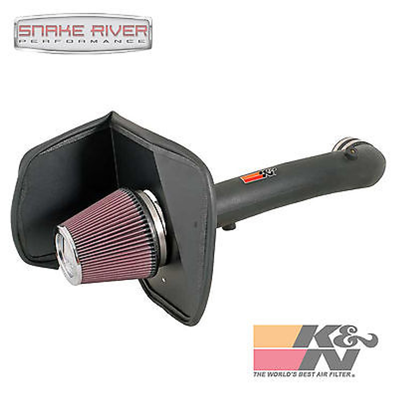 K/&N Performance Cold Air Intake Kit 63-9025 with Lifetime Filter for 2005-2011 Toyota Tacoma 4.0L V6