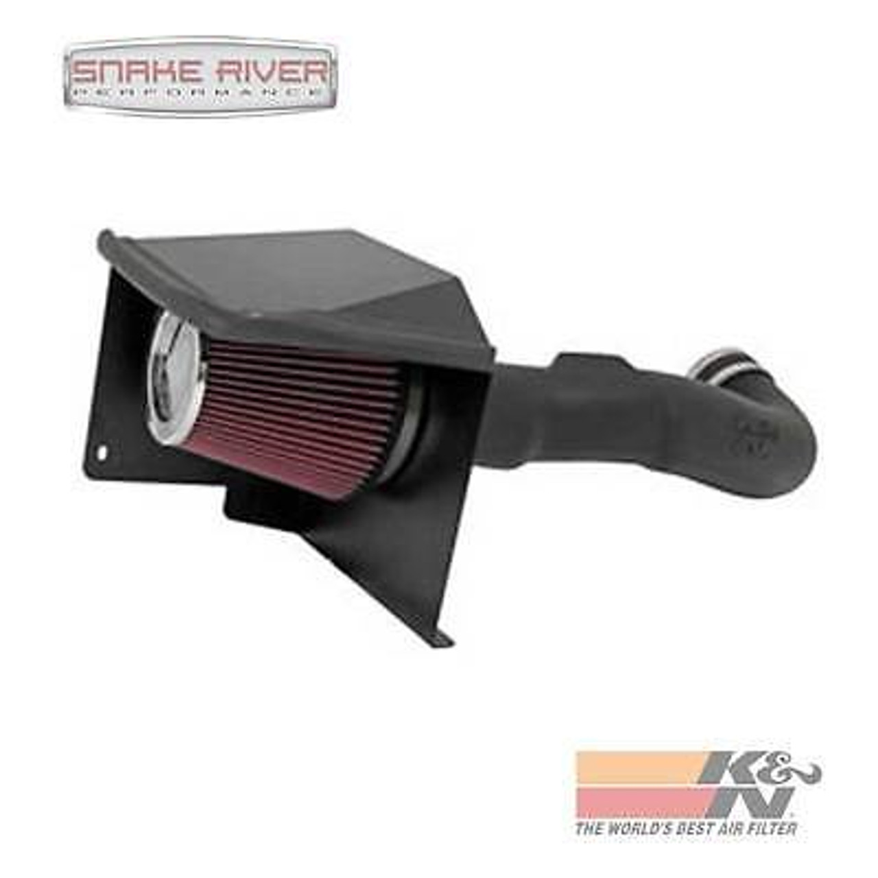 K/&N 57 Series Performance Cold Air Intake Kit 57-3058 for 07-08 GM V8 GMC Chevy