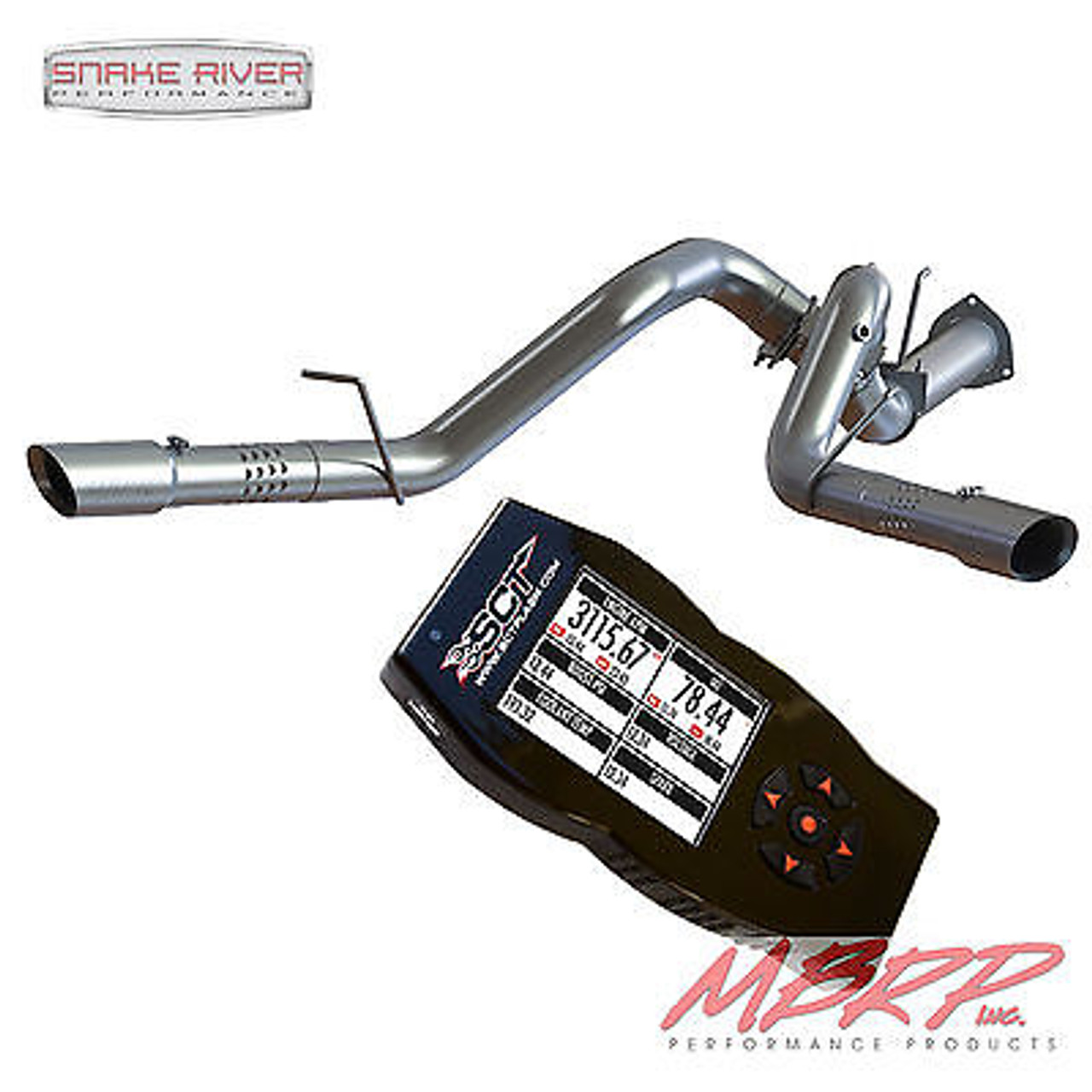 """FITS 15-16 Ford 6.7L Powerstroke MBRP  4/"""" INSTALLER SERIES TURBO DOWNPIPE."""