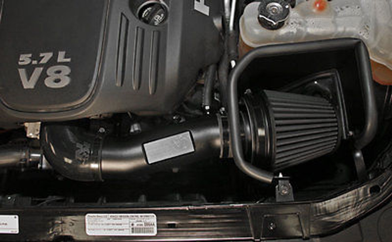 Red 4 Intake Pipe Performance Cold Air Intake Induction Kit With Filter Compatible for Chrysler 300 /& Dodge Challenger Charger Magnum 5.7L 6.1L V8 Increase Horsepower