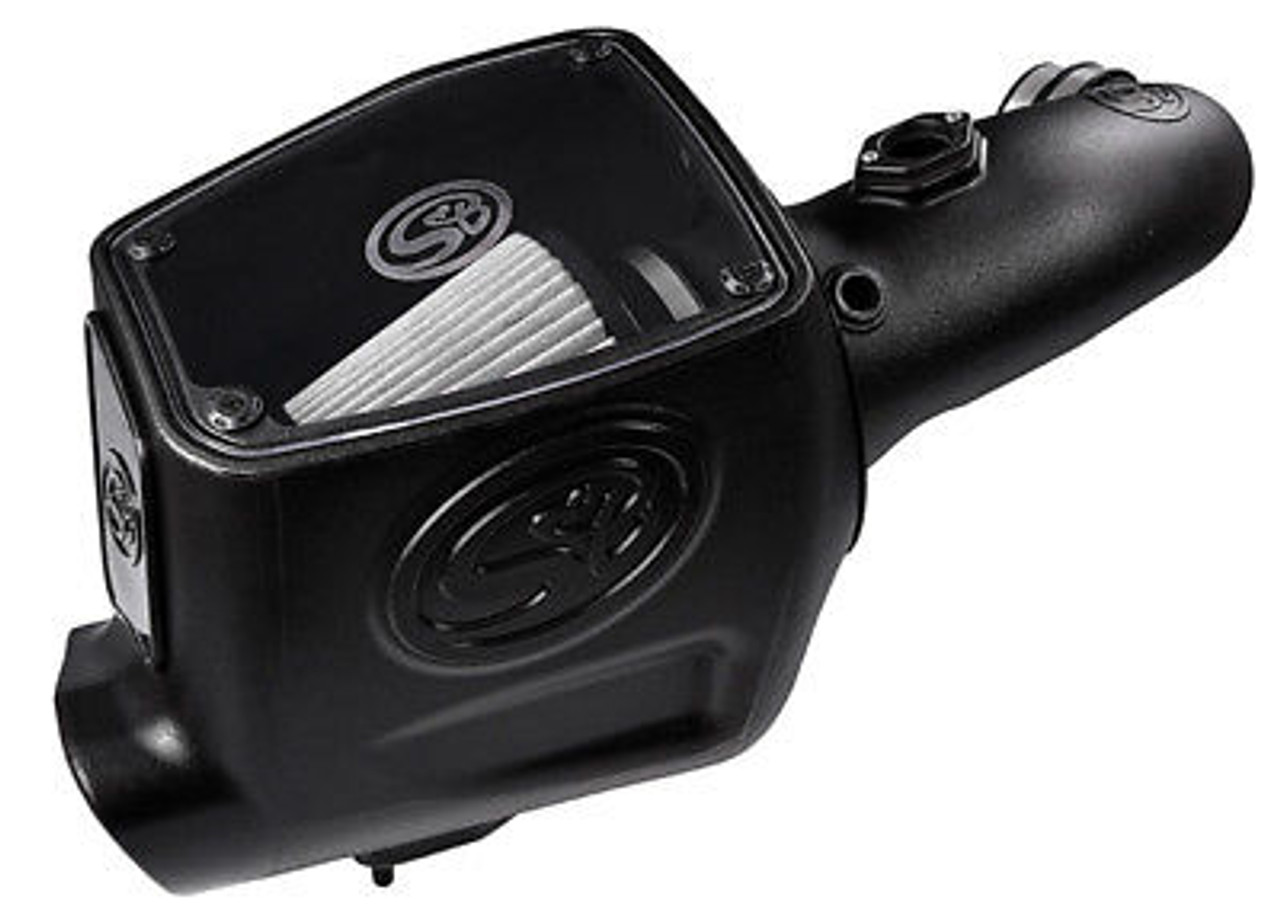 S&B COLD AIR INTAKE 08-10 FORD POWERSTROKE DIESEL 6.4L F250 F350 F450 DRY FILTER - 75-5105D