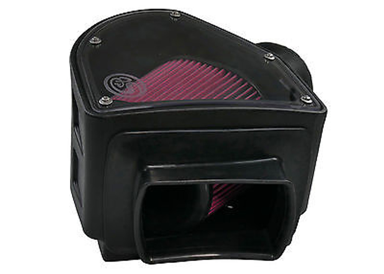 S&B FILTERS COLD AIR INTAKE FOR 94-02 DODGE RAM CUMMINS DIESEL 5.9L OILED FILTER - 75-5090