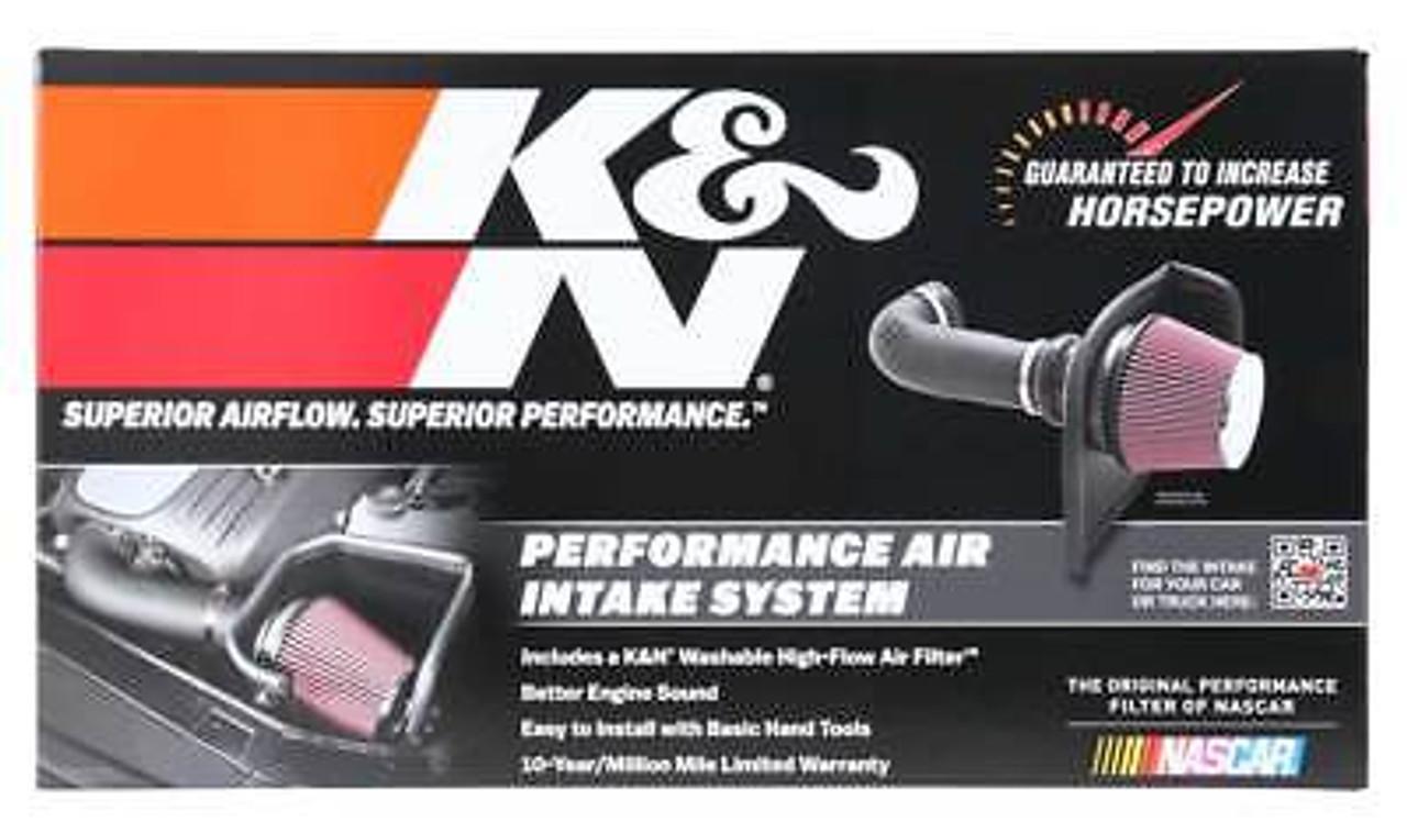 K&N AIR INTAKE FOR 2009-2019 DODGE RAM 1500 HEMI 5.7L 2013-2018 2500 3500 OILED