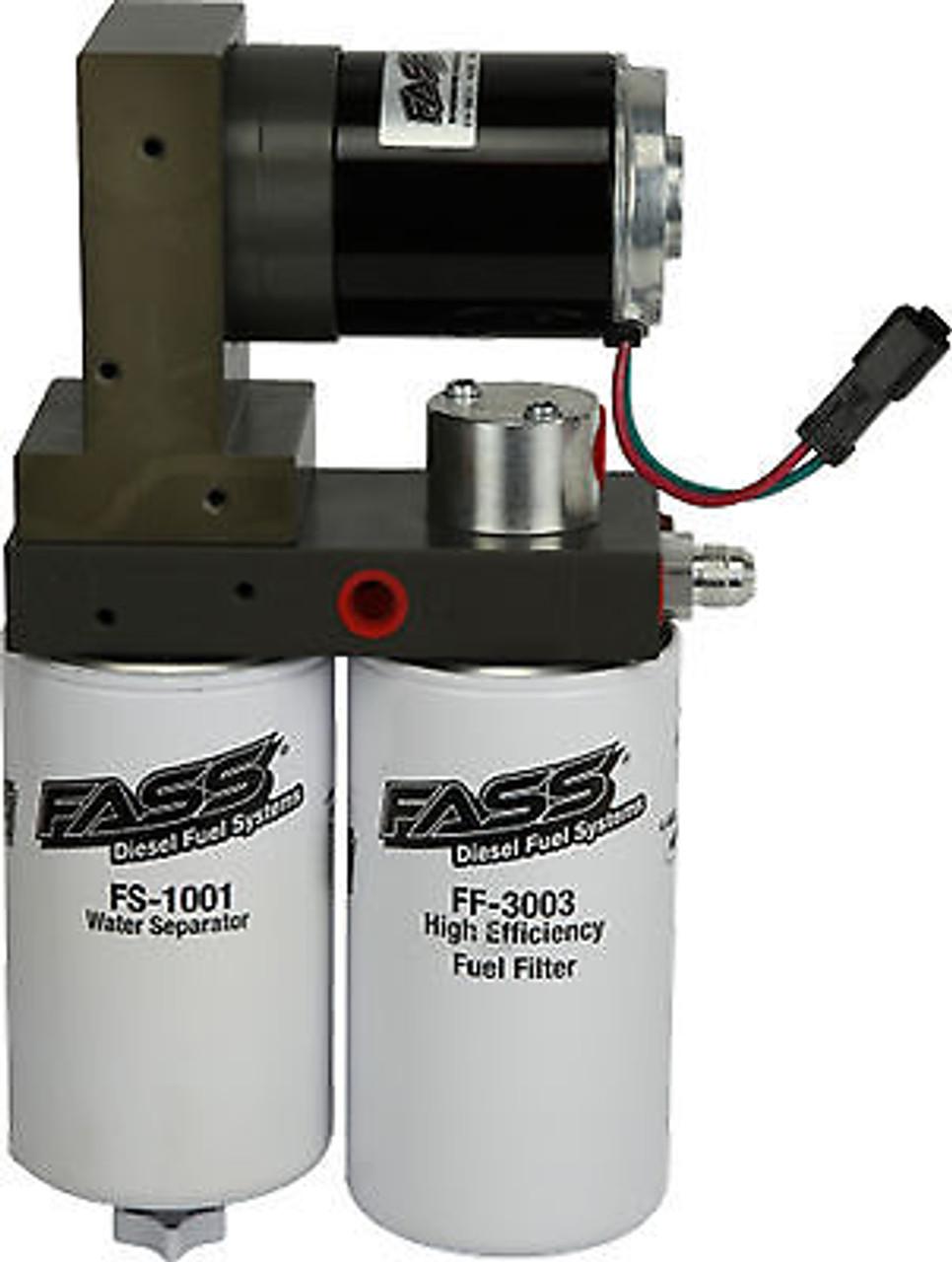 FASS FUEL PUMP TITANIUM SIGNATURE SERIES FOR 05-18 DODGE CUMMINS DIESEL 250 GPH - TS D07 250G