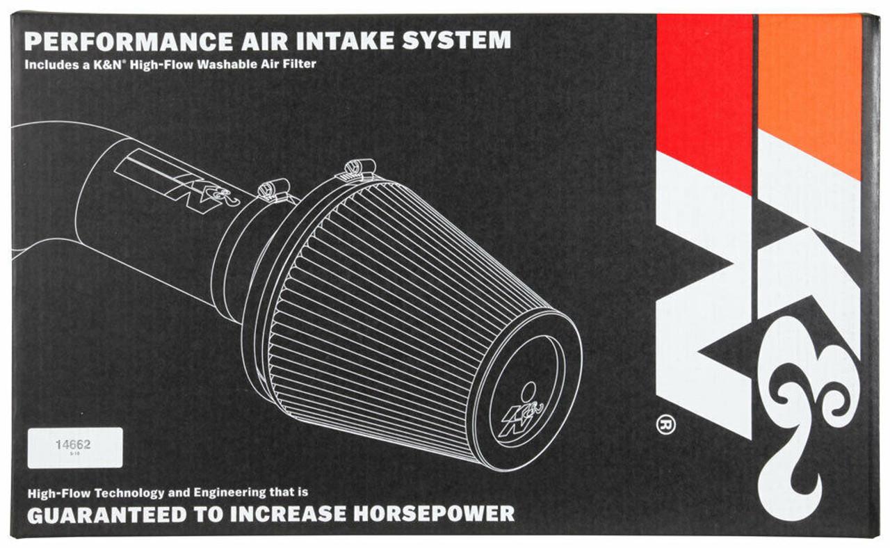 K&N COLD AIR INTAKE FOR 2018 DODGE CHALLENGER DEMON 6.2L V8 OILED FILTER 63-1577