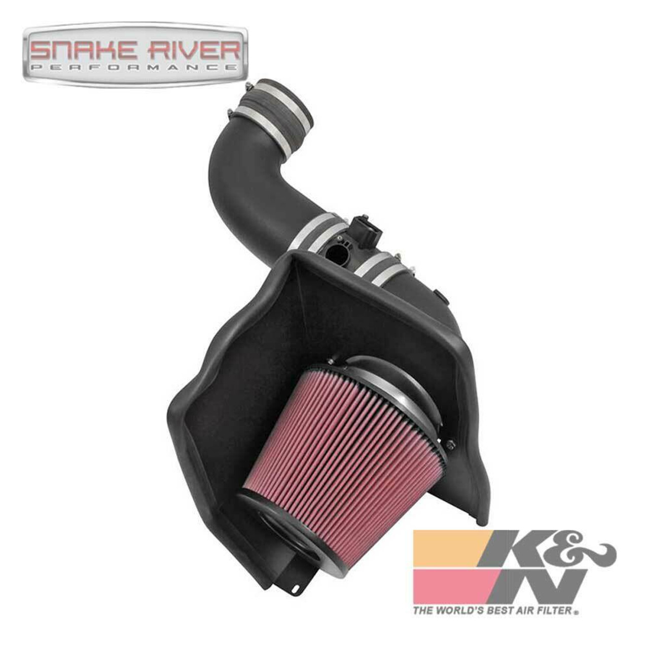 K&N PERFORMANCE AIR INTAKE SYSTEM FOR 2015 CHEVY GMC DURAMAX DIESEL 6.6L 57-3087