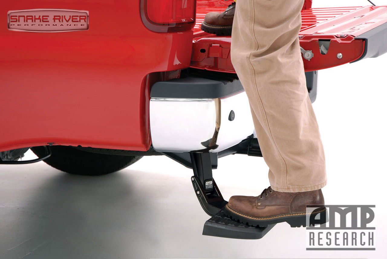 AMP RESEARCH BEDSTEP RETRACTABLE BUMPER STEP for 19-20 RAM 2500 3500 75324-01A