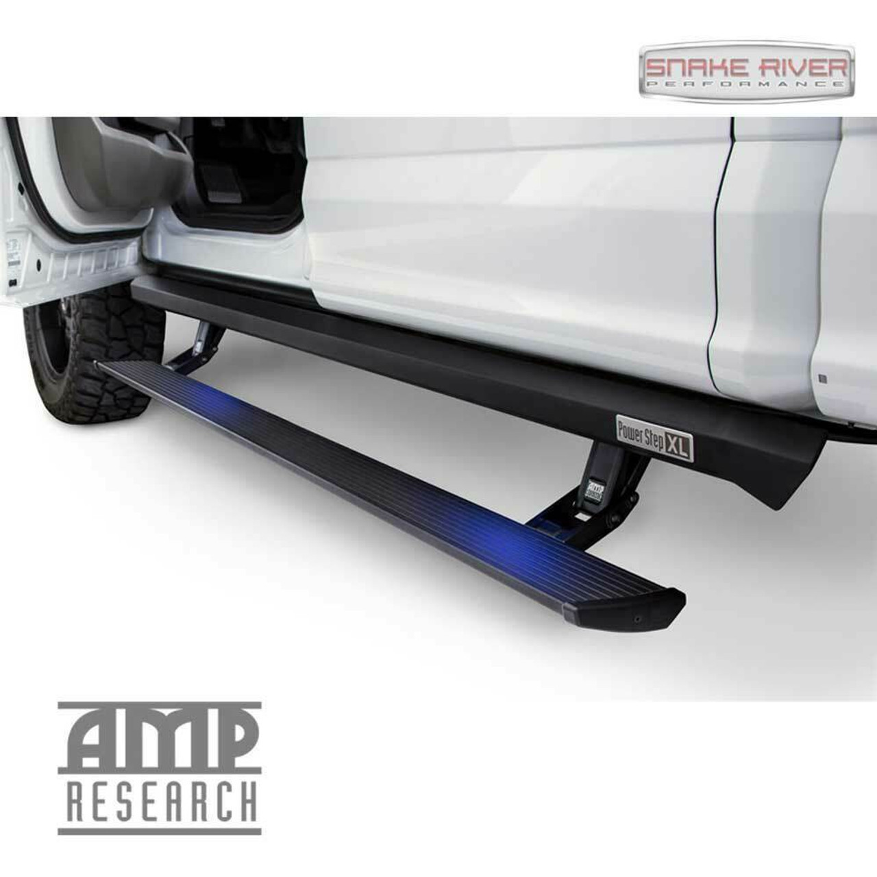 AMP RESEARCH POWERSTEP XL FOR 2020 FORD F250 F350 SUPERCREW CAB RUNNING BOARDS