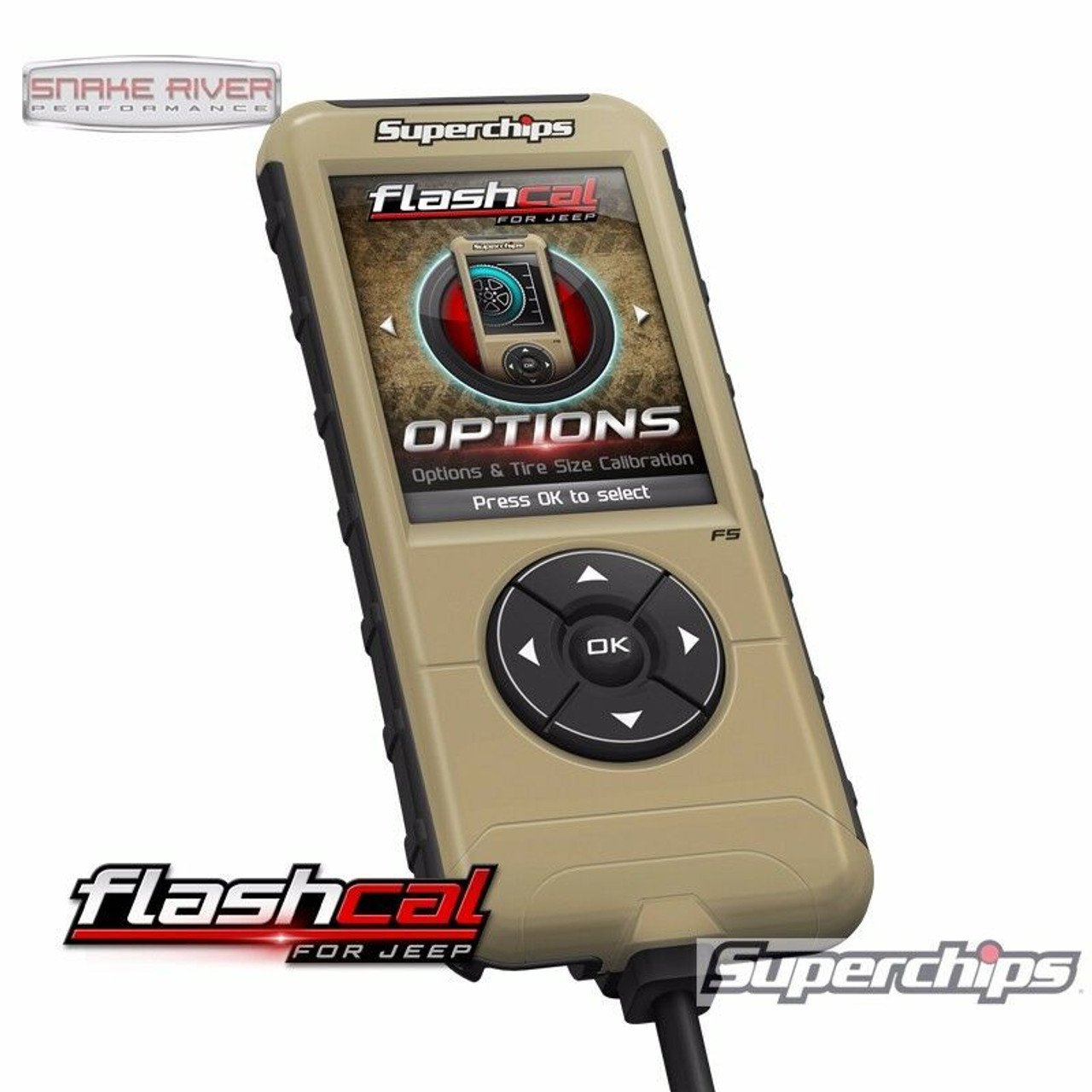 SUPERCHIPS FLASHCAL FOR JEEP 2020 JEEP GLADIATOR JT CALIBRATION TOOL 3571-JT