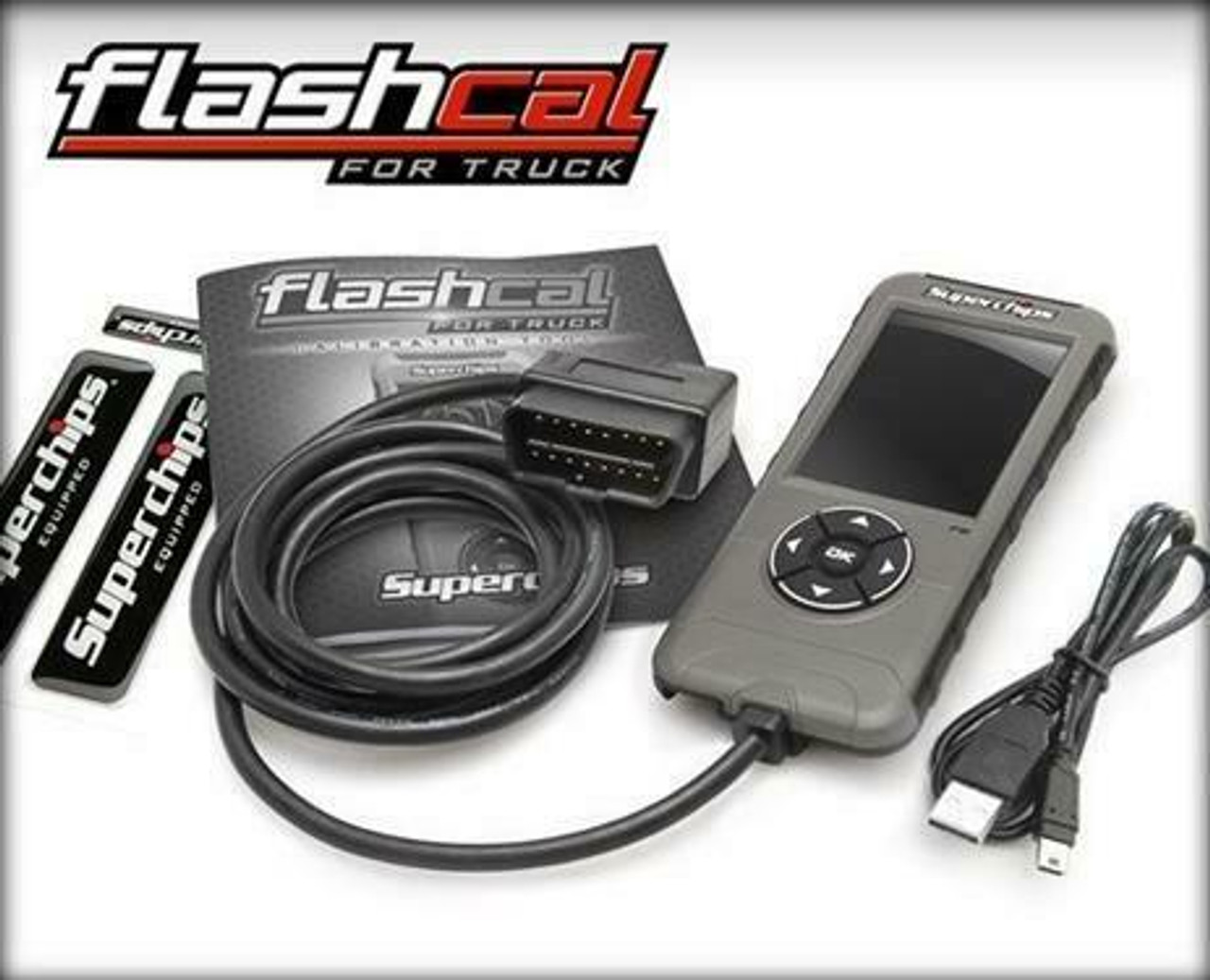 SUPERCHIPS FLASHCAL CALIBRATION TOOL FOR 2018-2019 DODGE RAM 1500 CLASSIC BODY