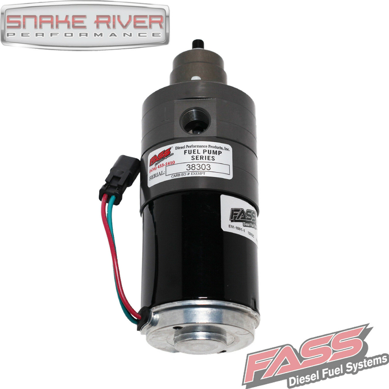 FASS ADJUSTABLE FUEL PUMP 11-16 FORD POWERSTROKE F250/F350 DIESEL 6.7L 240 GPH