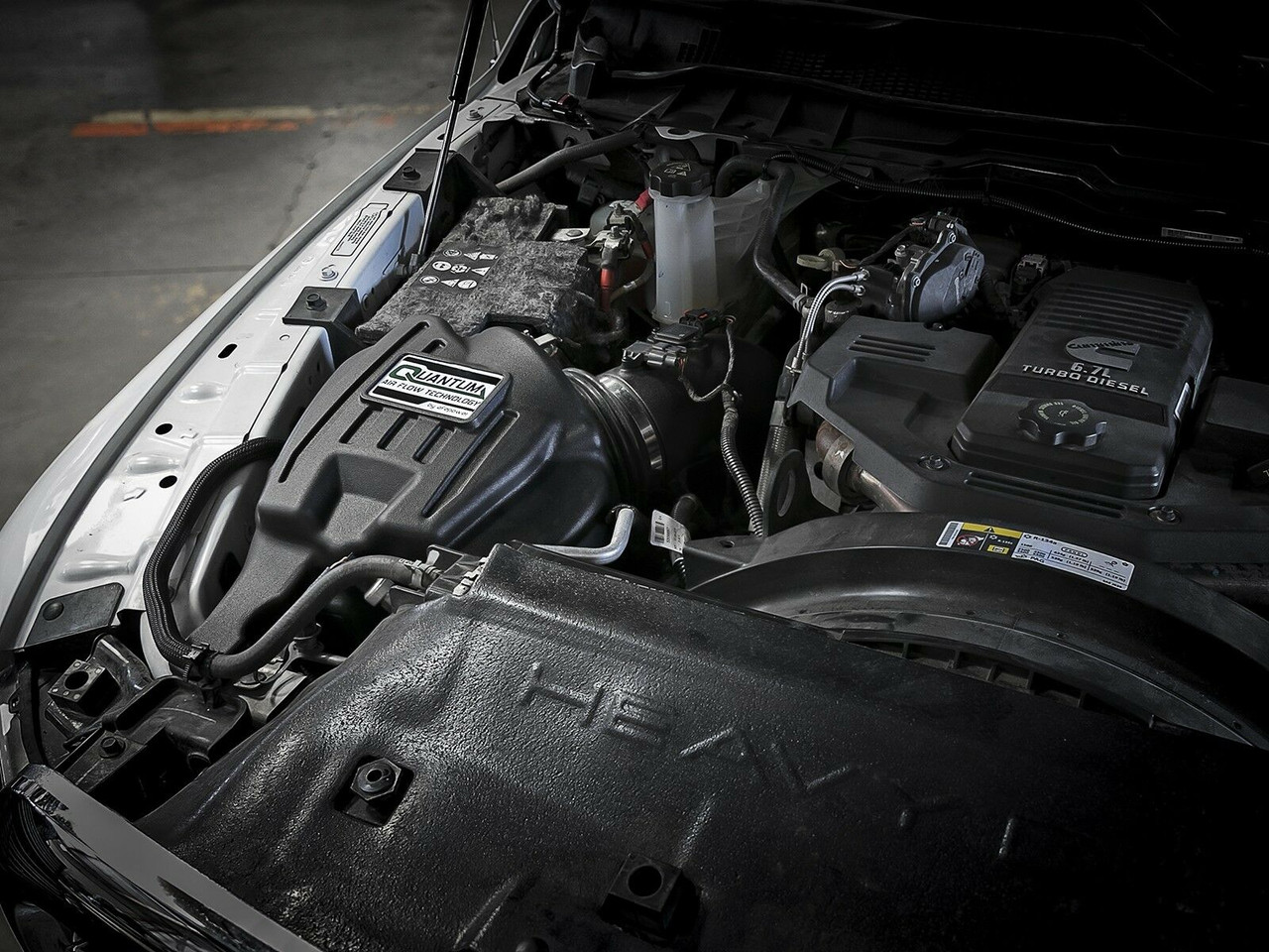 AFE AIR INTAKE FOR 13-18 DODGE RAM CUMMINS DIESEL 6.7L QUANTUM PRO 5R 53-10002R