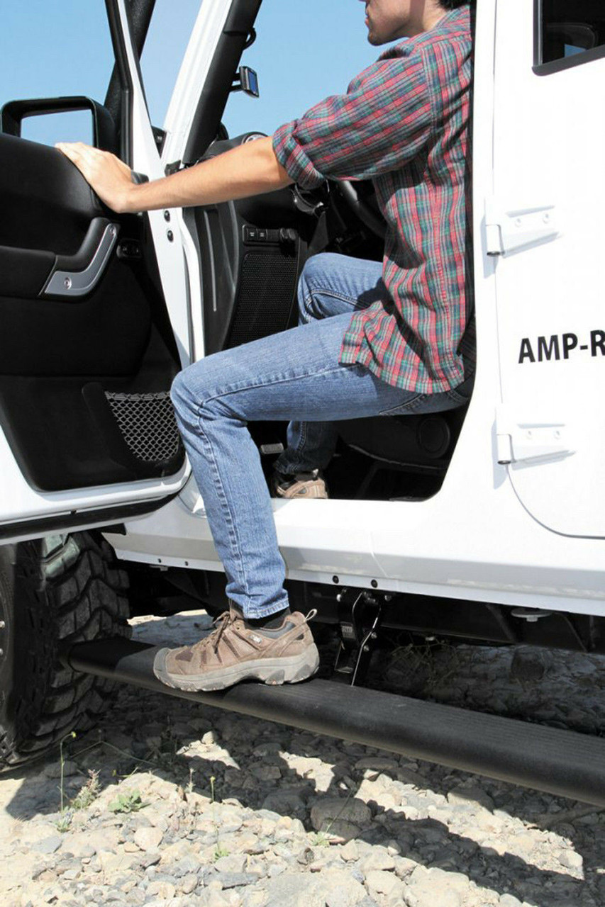 AMP RESEARCH POWERSTEP PLUG-N-PLAY FOR 14-17 DODGE DURANGO GAS ONLY 76331-01A