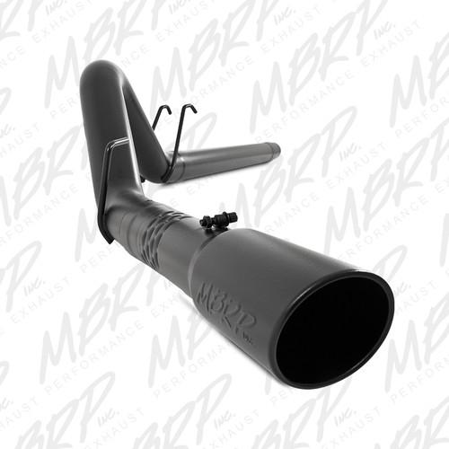 "S6242BLK - MBRP 4"" EXHAUST 08-10 FORD POWERSTROKE DIESEL F250 F350 6.4L FILTER BACK BLACK"