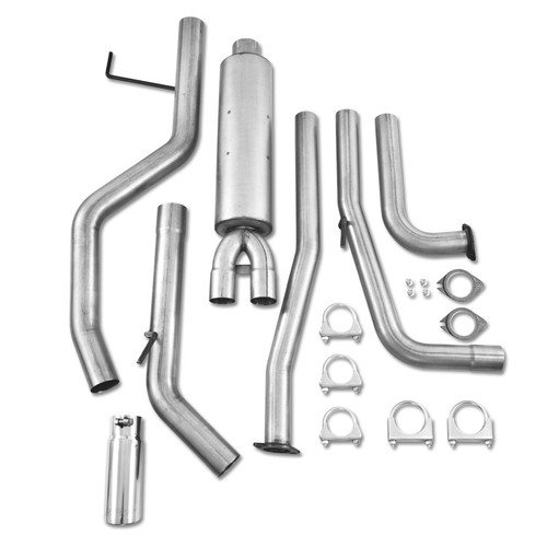 S5404AL - MBRP EXHAUST 2007-2011 NISSAN TITAN 5.6L CAT BACK SINGLE SIDE ALUMINIZED