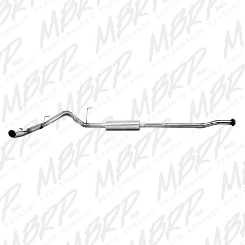 S5210409 - MBRP EXHAUST 2009-2011 FORD F150 4.6L 5.4L CAT BACK SINGLE STAINLESS STEEL CC/EC