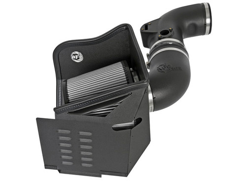 AFE MAGNUM FORCE PRO DRY S AIR INTAKE 2011-2016 CHEVY GMC DURAMAX DIESEL V8 6.6L LML - 51-12322-1