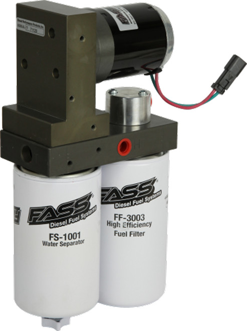 FASS TITANIUM FUEL LIFT PUMP FOR 94-98 DODGE CUMMINS TURBO DIESEL 125 GPH 45 PSI - TD10125G