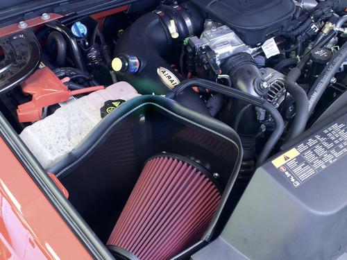 AIRAID MXP COLD AIR DAM INTAKE SYNTHAFLOW OILED 2011-2012 CHEVY GMC DIESEL 6.6L V8 - 200-281